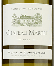 An image of a bottle of Chateau Martet